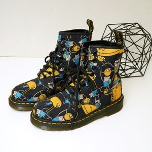 Dr. Martens Shoes - Dr. Martens X Adventure Time Combat Castel Boots